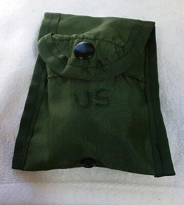 Us Army Case First Aid Compass Belt / Pouch Green,