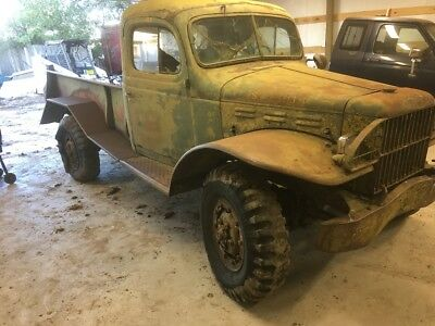 1946 Dodge Power Wagon  1946 dodge military power wagon rat rod hot rod project