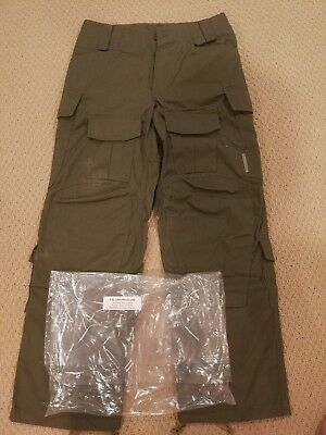 NEW Crye Precision AC Army Custom Field Pants 28 Short Ranger Green