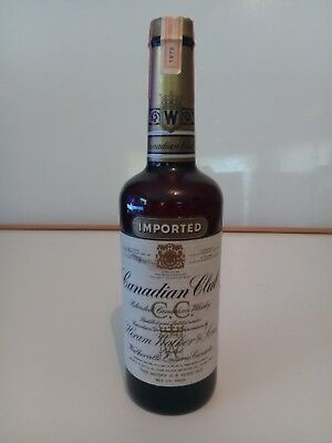 Canadian Club 6 Year Old Whisky - 1979. Never opened (75cl, 40%)