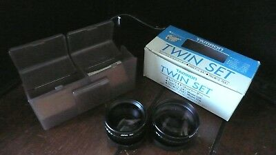 NIB Tamron Video Tele / Wide  Conversion Lens Kit 150 CT (1.5x) 75 CW (0.75x)
