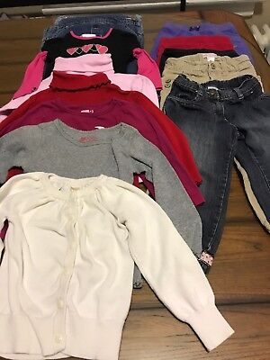 Lot Of Girls 2T Fall Winter Clothes