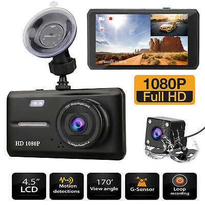 "3"" Vehicle HD 1080P Car Dashboard DVR Camera Video Recorder Dash Cam G-Sensor US"