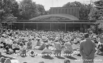 Usa Carte Photo Greetings From Tanglewood
