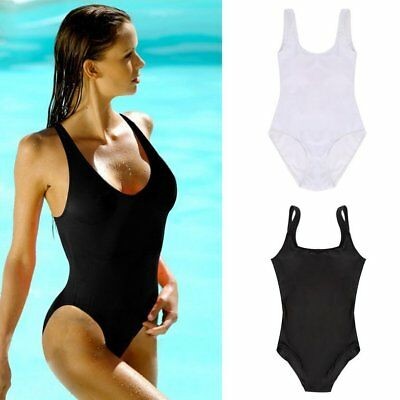68adbcd2ad5 Womens Swimming Costume Backless Swimsuit Monokini One Piece Swimwear  Bikini Set