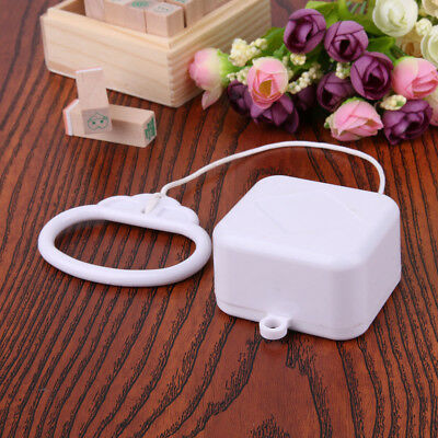 Funny Pull String Cord Music Box White Baby Gift infant Bed Bell hanging Toy AU