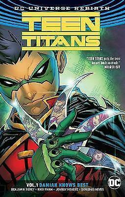 Teen Titans Vol. 1: Damian Knows Best - Paperback NEW Percy, Benjamin 06/08/2018