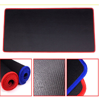 600x300X3 mm Large Black Non-Slip Gaming Mouse Pad Mat Office Desk Mousepad AW