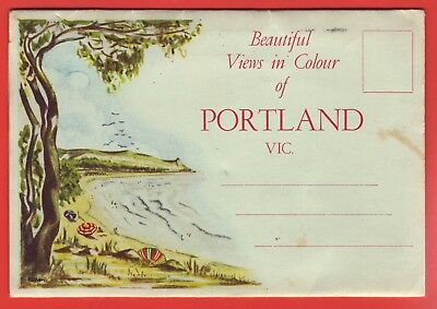 AUSTRALIA - PORTLAND VICTORIA - OLD SOUVENIR VIEW POSTCARD FROM THE 1940/50s
