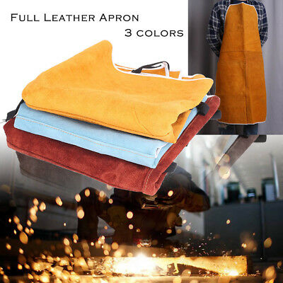 Welding Equipment Welder Heat Insulation Protection Cow Leather Apron 60x90 cm