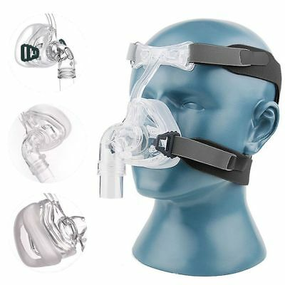 NM2 Nasal Mask For CPAP Full Face Masks Interface Sleep & Snore Strap +Headgear