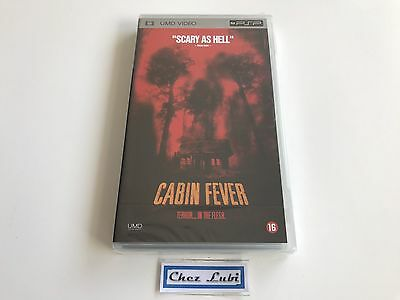Cabin Fever - UMD Video - Sony PSP - FR/EN - Neuf Sous Blister