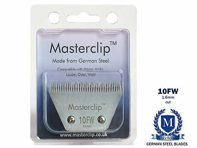 Horse Clipper Blade 10FW A5 Masterclip German Steel Blades Fine 1.6mm Wide 🐎🐴