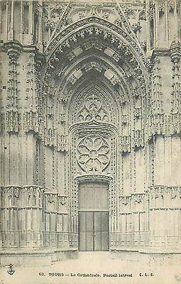 37 Tours Cathedrale Portail Lateral 15270
