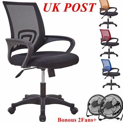Ergonomic Office Chair, Executive Mesh Computer Desk Chair, Loading 150kg, Black
