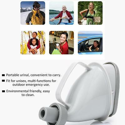 Portable Car Travel Outdoor Adult Urinal Unisex Potty Pee Camp Toilet E4F2