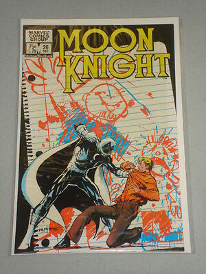 Moon Knight #26 Vol 1 Marvel Sienkiewicz Art December 1982