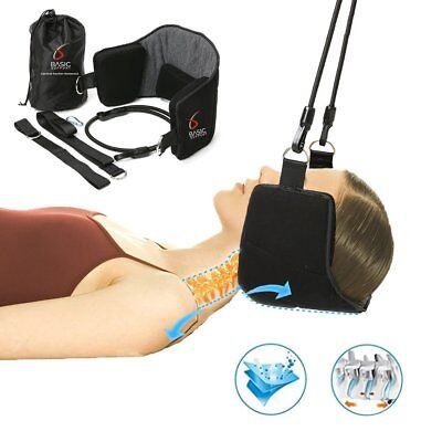 Hammock for Neck Pain Relief by Basic Support - Neck Hammock Stretcher Cervical