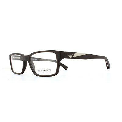e203b6664bb GIORGIO ARMANI GLASSES Frames 7087 5438 Transparent Brown Men 52mm ...