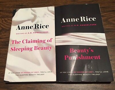 Anne Rice Roquelaure Sleeping Beauty Lot  1 & 2, Claiming, Beauty's Punishment