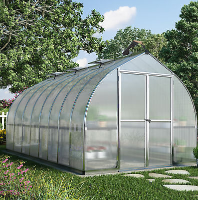 Palram Bella 8 Ft. W x 16 Ft. D Greenhouse
