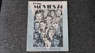 Perry Movies 1974 Catalogue 8mm Etc