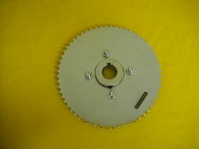 "Go Cart Sprocket And Hub For 1"" Axle .60 Tooth For #35 Chain Wao779"