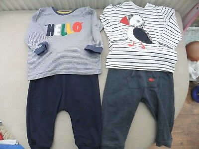 baby boys outfits one piece and tops all age 9 - 12 months marks & spencer next