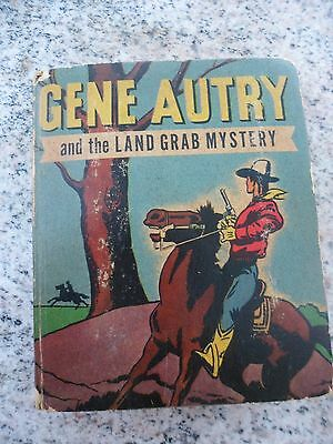 Vintage 1948 Gene Autry and the Land Grab Mystery Better Little Book #1439