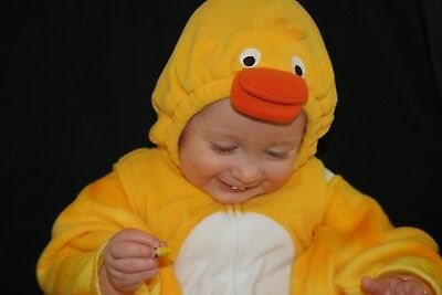 1-Piece Carter's Halloween Duck Costume; 18 months with leggings;Great condition