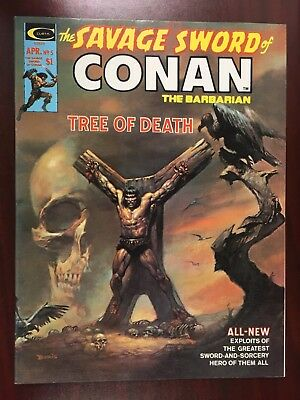 THE SAVAGE SWORD OF CONAN THE BARBARIAN #5 (April 1975, Marvel)