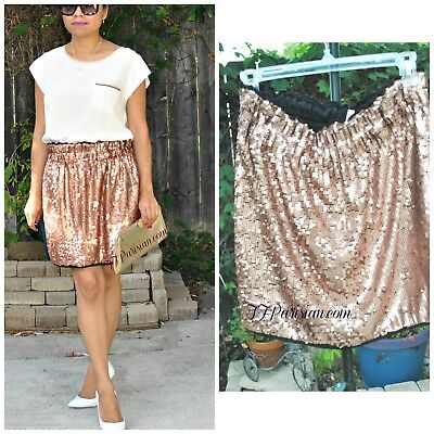 AMAZING DEAL! BUNDLE: RACHEL ROY SKIRT, SEQUIN PANTS and SHORTS! (S/M)
