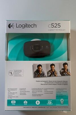 Logitech C525 - Logitech HD Webcam wie Neu