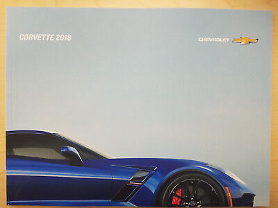 2018 Chevrolet Corvette Brochure