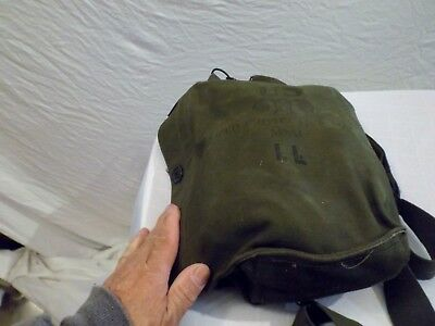 Vintage US Military M9 A1  Gas Mask