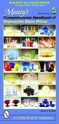 Mauzy's Comprehensive Handbook of Depression Glass Prices  (ExLib)