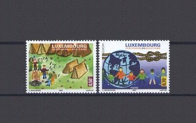 Luxembourg, Europa Cept 2007, Scouts Theme, Mnh