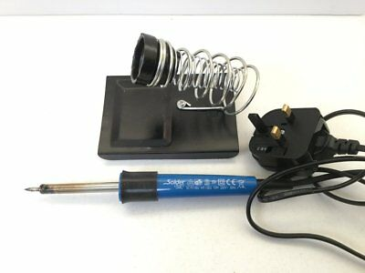 Soldercraft SC7015 15W 230V Electric Soldering Iron and Stand