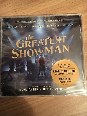 The Greatest Showman CD (Original Motion Picture Soundtrack) Brand New