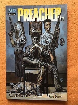 PREACHER Paperback Nr. 10: Custers Gesetz von Ennis/Dillon (Punisher) Speed
