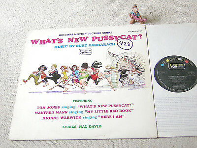 BURT BACHARACH O.S.T. What´s New Pussycat? orig 1965 GERMAN LP UNITED ARTISTS