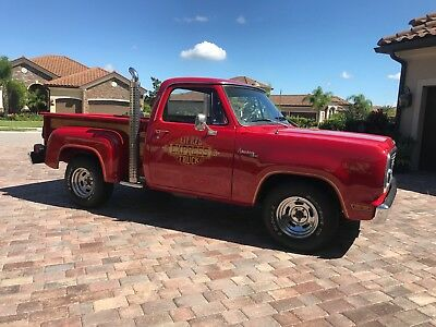 1979 Dodge Other Pickups Lil' Red Express 1979 Dodge D150 Little Red Express, A/C, Survivor Truck, One repaint 360ci V8