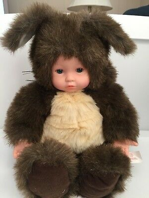 Anne Geddes Baby Squirrel Baby Doll 15""