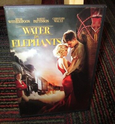 Water For Elephants Dvd Movie, Reese Witherspoon, Robert Pattinson, Jim Norton