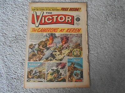 THE VICTOR COMIC  No 61  21st April 1962