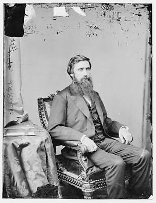 Photo:John A Rawlins,portrait photographs,Brady-Handy Collection,1860