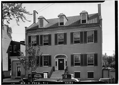 Loat's Female Orphan Home,24 East Church Street,Frederick,Maryland,MD,HABS