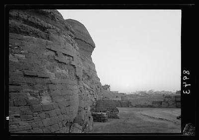 Pyramids of Gizeh,Pyramids of Giza,Jizah,Egypt,American Colony Photo,Sphinx,9