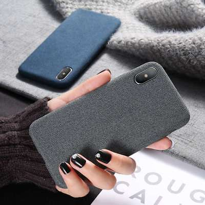 Warm Fuzzy Soft Cloth Skin Shockproof Cover Case For iPhone 7 8 Plus X XR XS Max