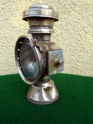 Ancienne Lampe Petrole Antique Vintage Old Bicycle Lamp  La Merveilleuse Paris